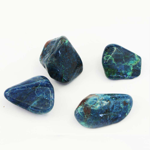 Rare Shattuckite Chrysocolla Tumbled Stone 2