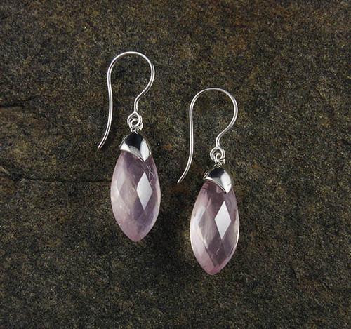Rose Quartz Earrings 6