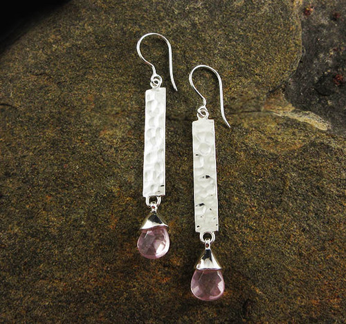 Rose Quartz Earrings 7