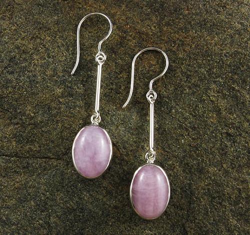 Pink Kunzite Earrings 13
