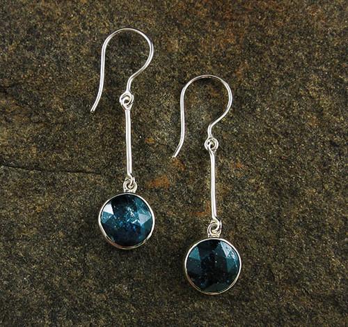 Ocean Kyanite Earrings 25