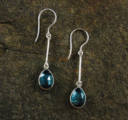 Ocean Kyanite Earrings 26