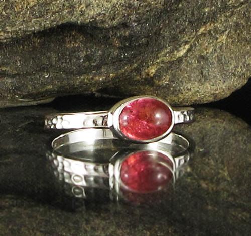 Pink Tourmaline Ring 28