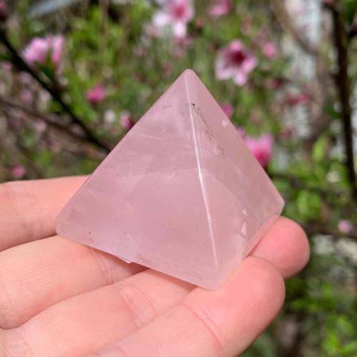 Rose Quartz Pyramid 15