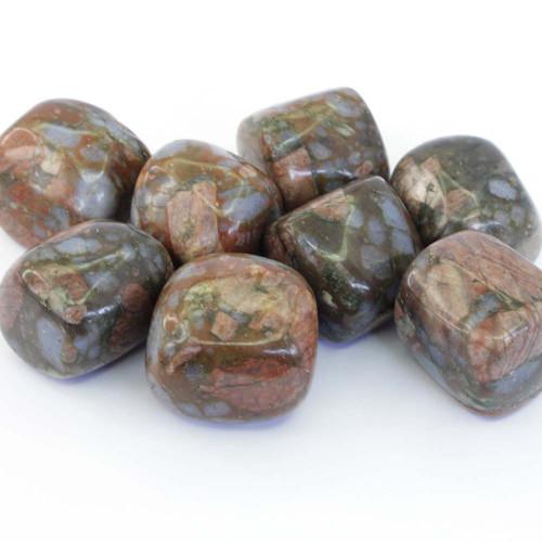 Que Sera Vulcanite Tumbled Stones