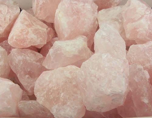 Rose Quartz Rough Stone Med