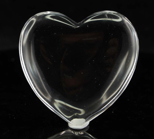 Clear Quartz Heart 4
