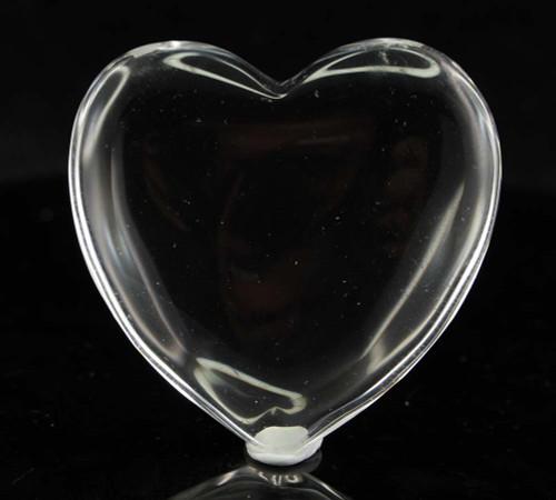 Clear Quartz Heart 4