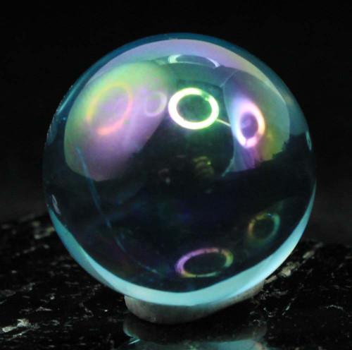 Aqua Aura Quartz Sphere 1