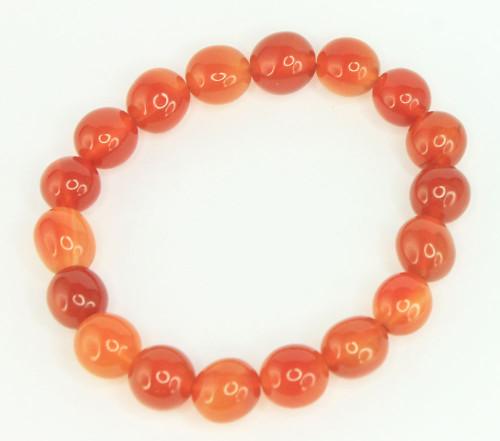 Carnelian Pebble Bracelet 5