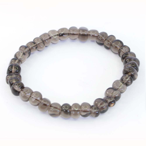 Smoky Quartz Pebble Bracelet 6