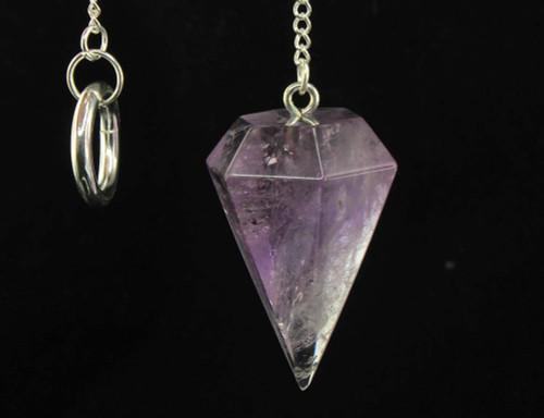 Amethyst Pendulum 6