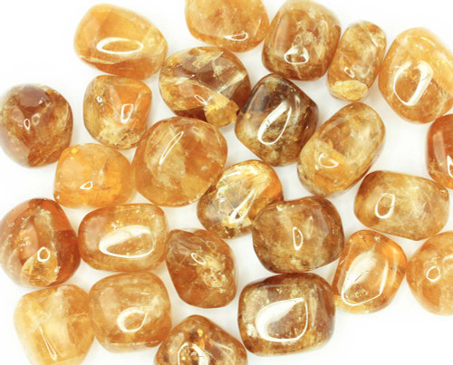 Honey Calcite Tumbled Stone
