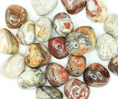 Crazy Lace Agate Tumbled Stone