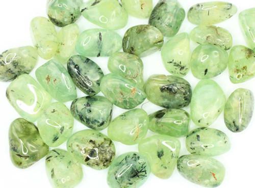 Prehnite Epidote Tumbled Stone 4