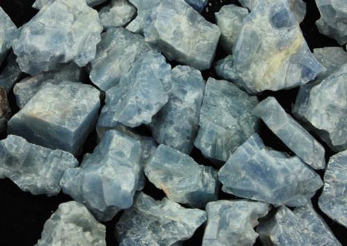 Blue Calcite Rough Small