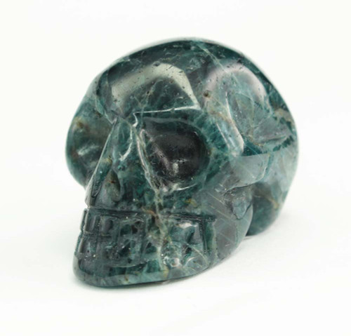 Blue Apatite Skull 2