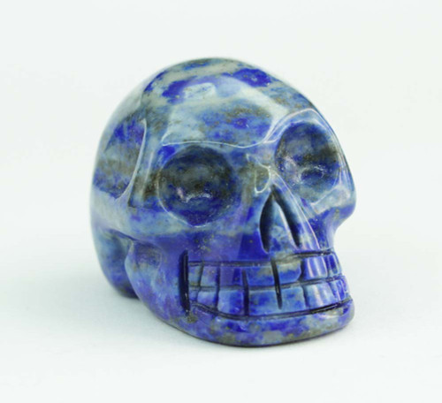 Lapis Lazuli Skull 2