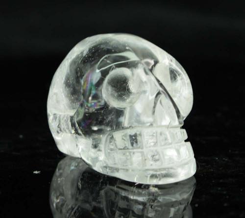 Clear Quartz Crystal Skull 6