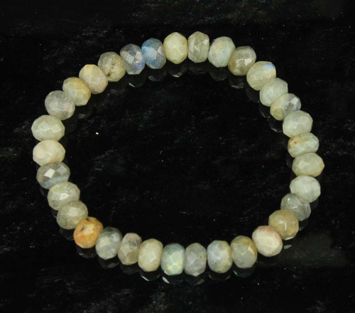Labradorite Faceted Bracelet