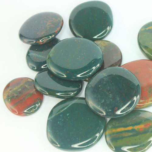 Bloodstone Flat Stone Small