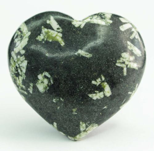 Chinese Writing Stone Heart 1