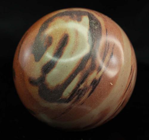 Zebra Stone Sphere 8