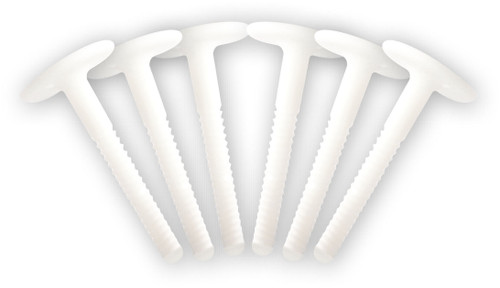 Softboard Fin Screw Set (x6)