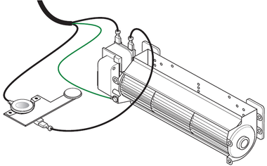 How is a Fireplace Blower Kit Wired?