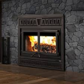 FP15 Waterloo Wood Fireplace