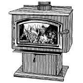 4100 Wood Stove