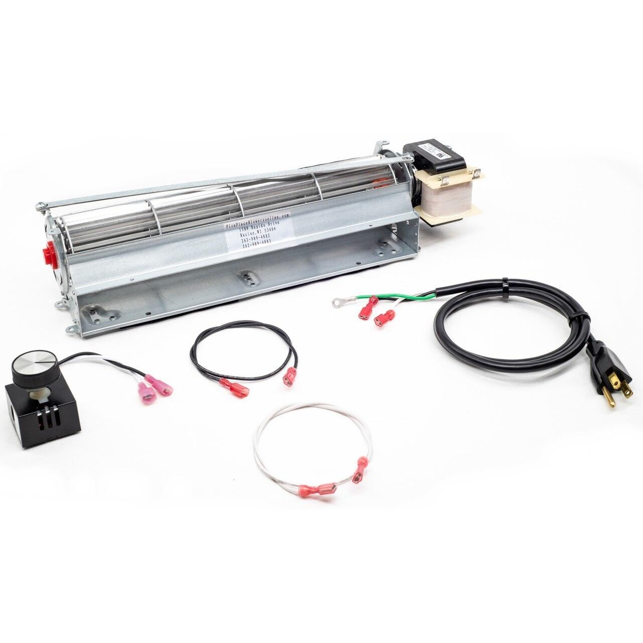 GA3700A Fireplace Blower Kit for Desa, FMI & Vanguard Fireplaces