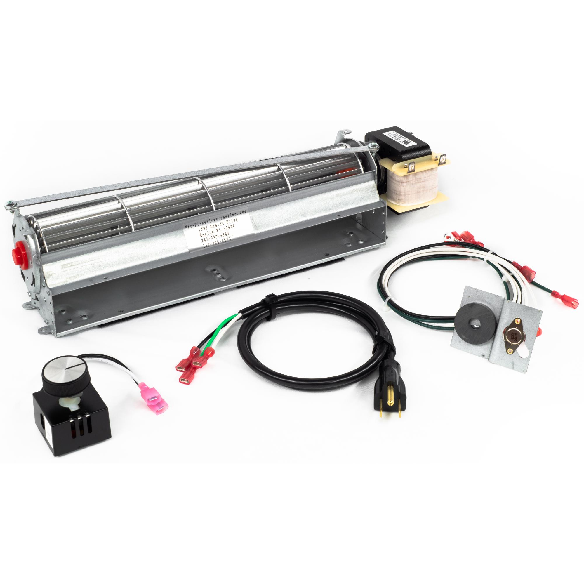 GA3650T(B) Fireplace Blower Kit for Comfort Glow, Desa, FMI & Vanguard Fireplaces