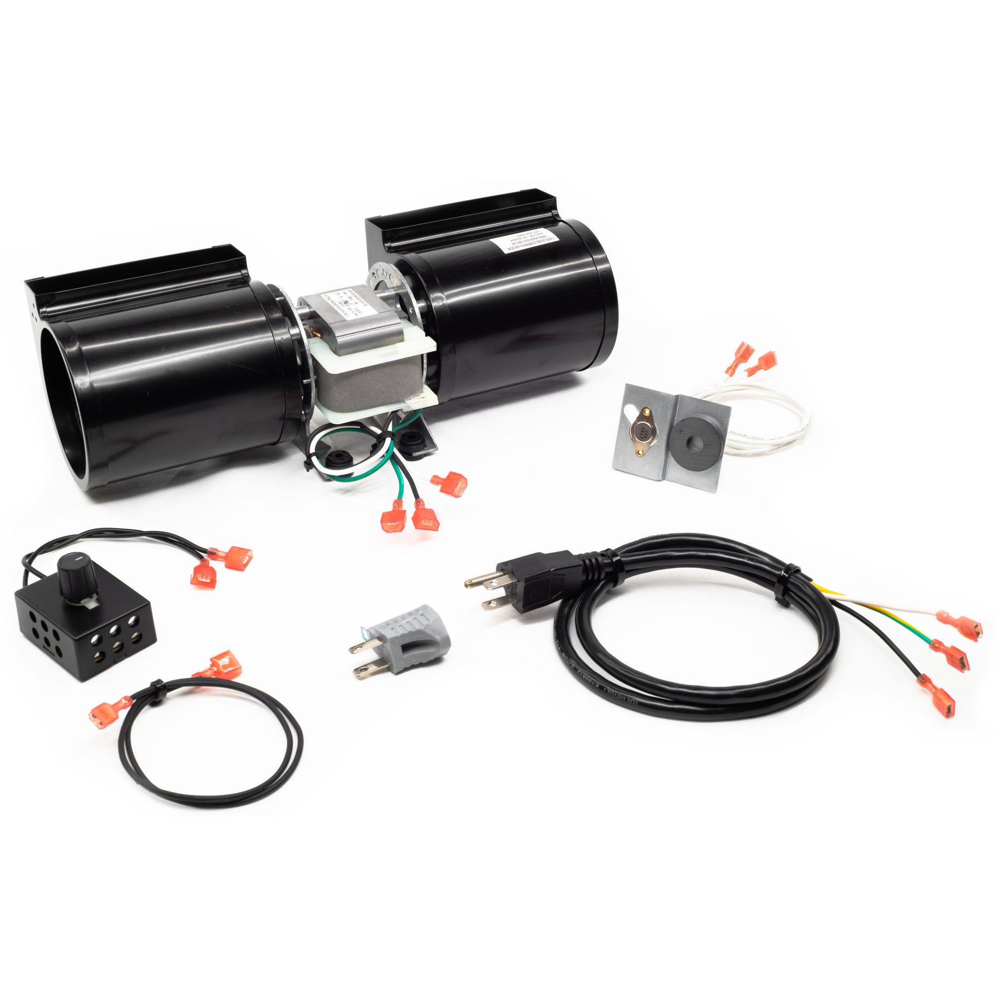 GFK-160A Fireplace Blower Fan Kit for GTI, Heatilator, Heat & Glo and Quadra-Fire Fireplaces