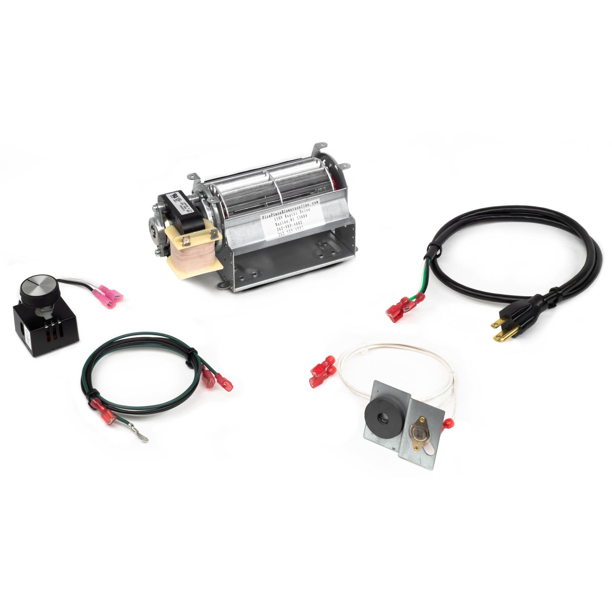 GFK21A Fireplace Blower Fan Kit for Heatilator Fireplaces