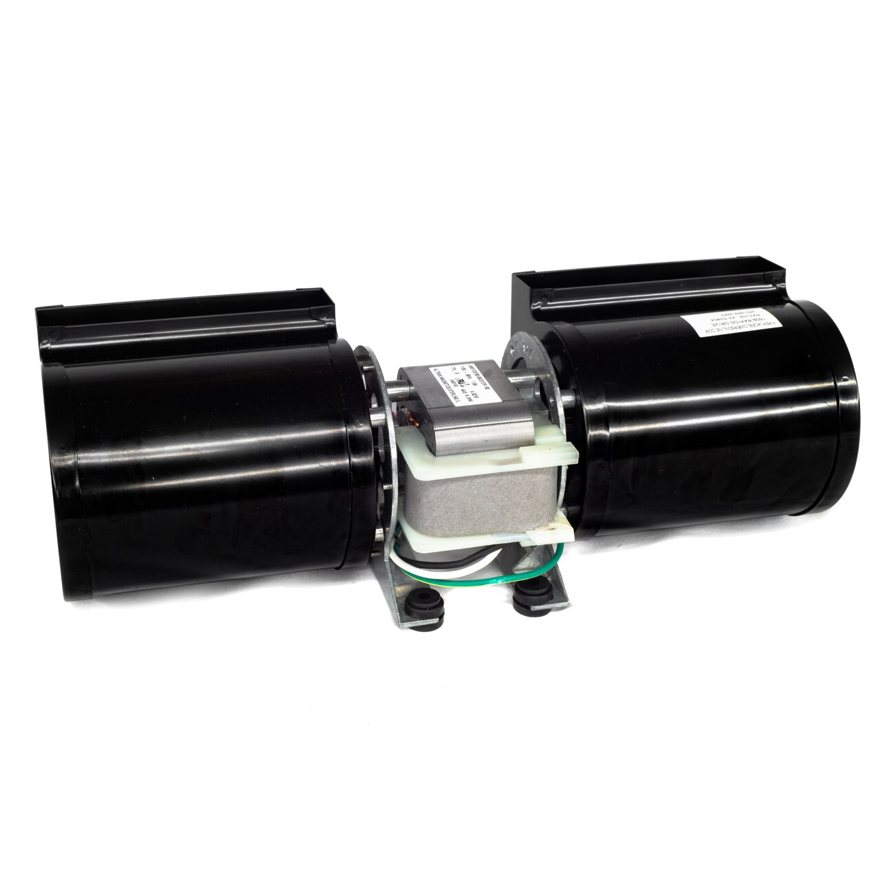 44122 Dual Cage Convection Blower Replacement for Enerzone, Flame, Osburn & Valcourt Fireplaces