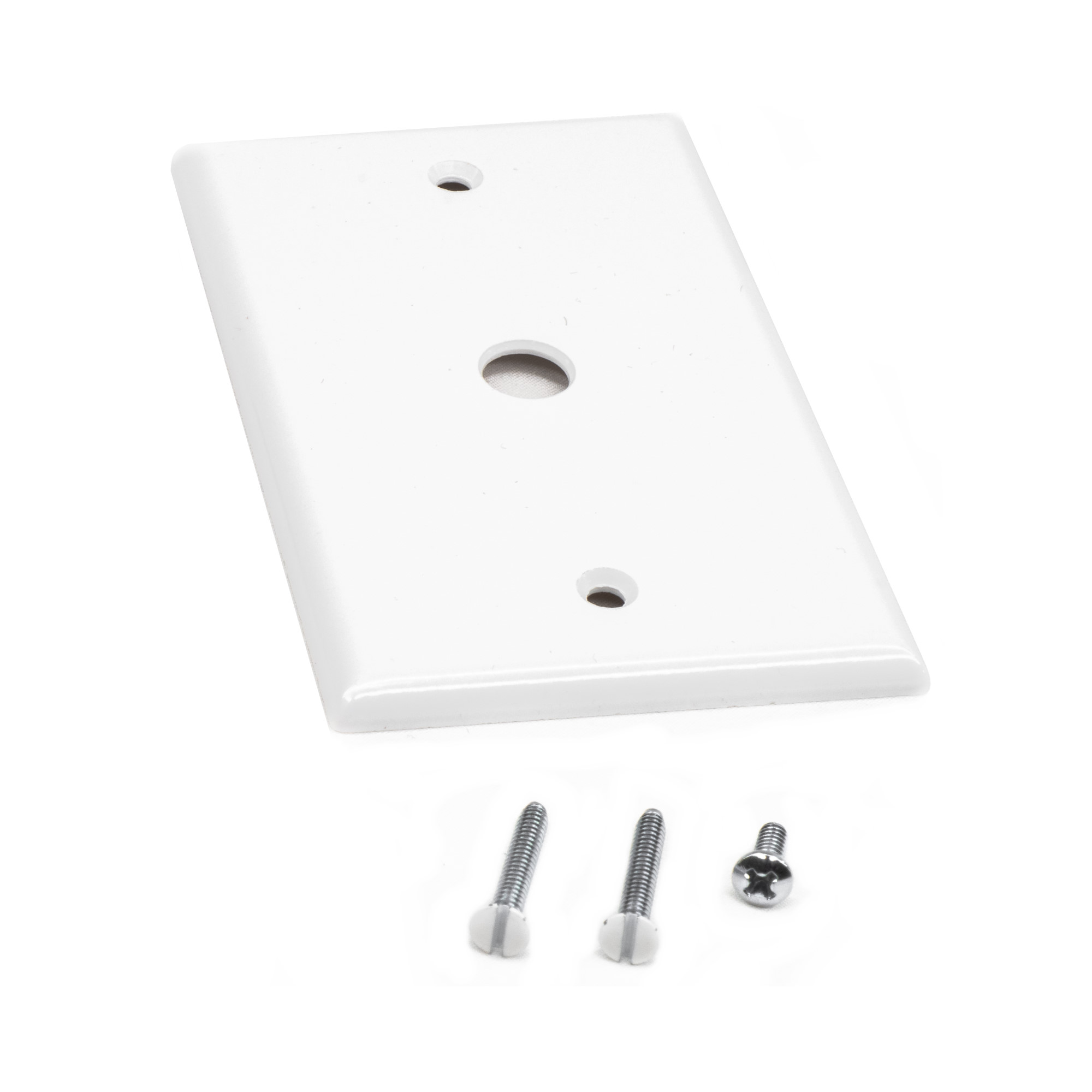 Single Gang Cover Plate w/ Hole for Wall Mount Variable Speed Controller