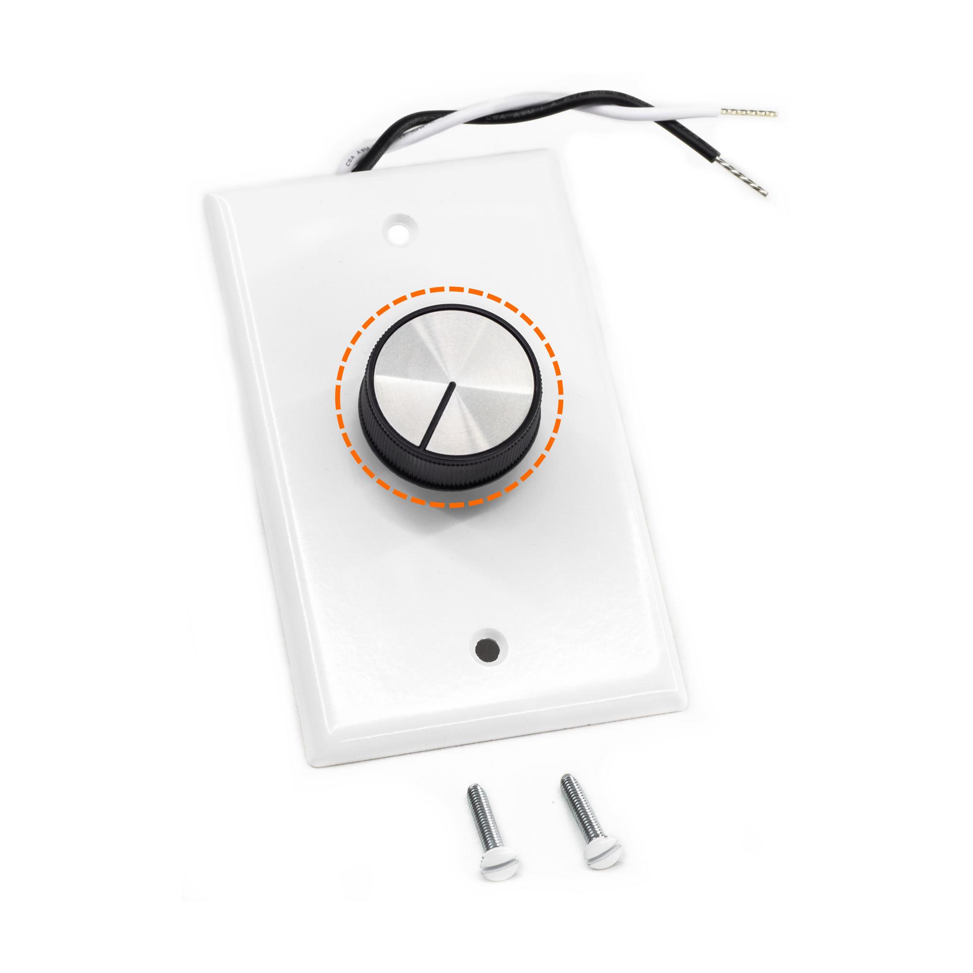 Rheostat Variable Speed Controller Knob (44085)