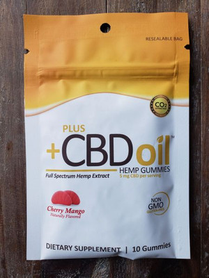 CBD Gummies by +CBD