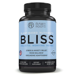 Raw and Root Plant-Based Nutrients BlissHolistic Nootropic Herbs