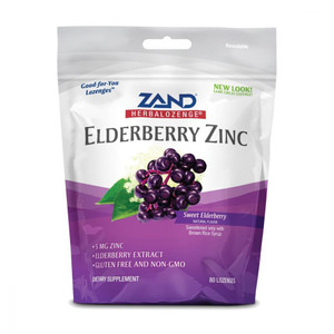 Sweet Elderberry Zinc Lozenges