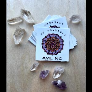 Be Yourself AVL NC Sticker