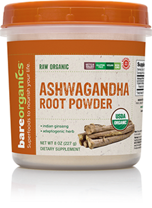 Raw Organic Ashwagandha Root Powder
