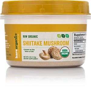 Raw Organic Shitake Mushroom Powder