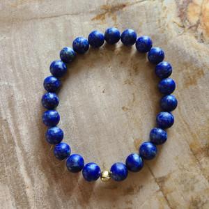 Lapis Lazuli Bracelet (matte)