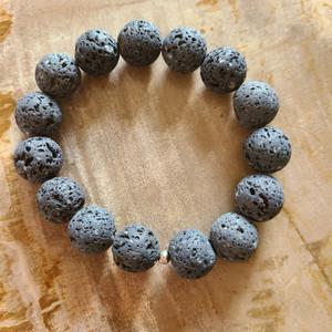 Lava Rock Bracelet (Large)