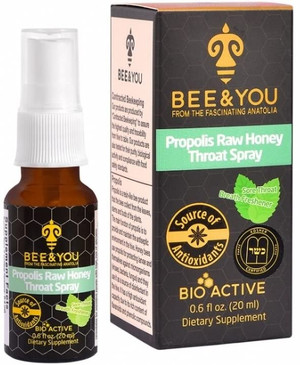 Propolis Raw Honey Throat Spray