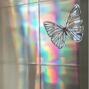 Rainbow Suncatcher Window Stickers