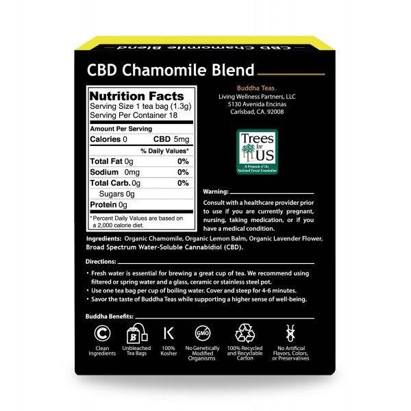 CBD Chamomile Blend Tea