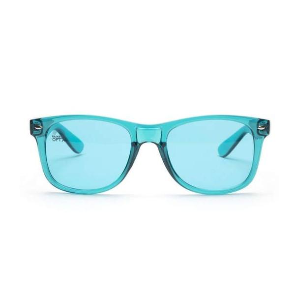 Aqua Color Glasses